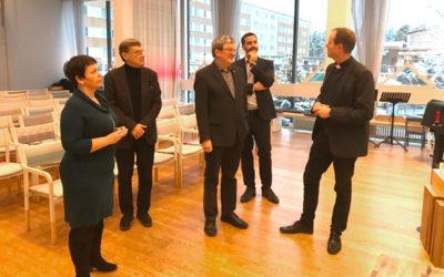 Besök av inter-religiöst råd från Finland