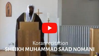 Koran-recitation av sheikh Muhammad Saad Nomani