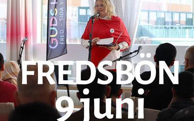 Fredsbön – Pingstdagen 9 juni 2019