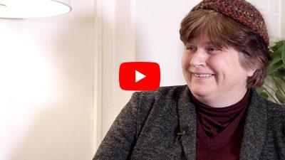 Rabbin Ute Steyer intervjuas om Guds Hus