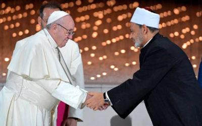 Påvens och storimamens fredsdeklaration