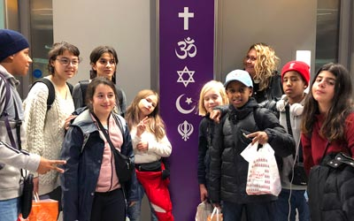 London trip with youth from God's House